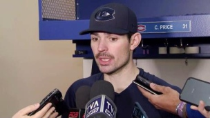 Carey Price, un gardien fort occupé