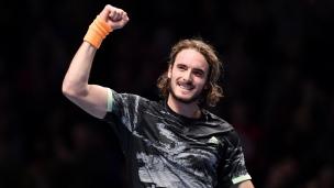 Tsitsipas champion aux Finales de l'ATP