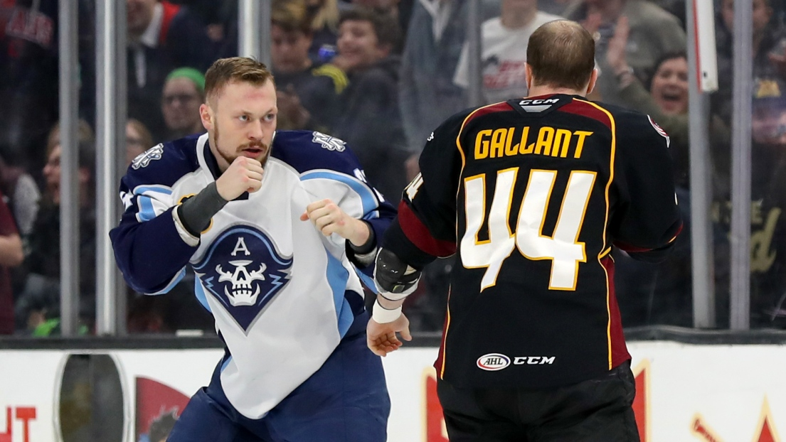 Mathieu Olivier et Brett Gallant