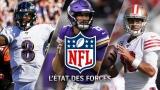 État des forces NFL - 19 novembre 2019
