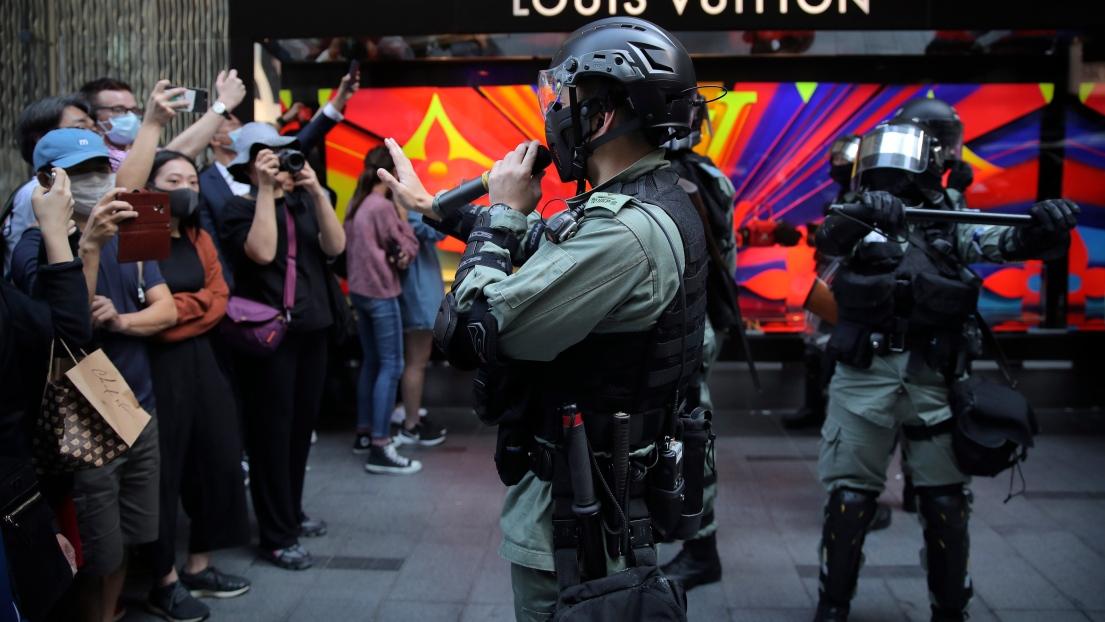 La tension sociale est à son comble à Hong Kong depuis le début du mouvement de contestion, en juin.