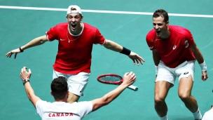 Coupe Davis : le Canada en demi-finales