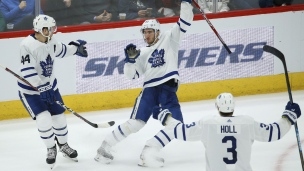 Maple Leafs 3 - Coyotes 1