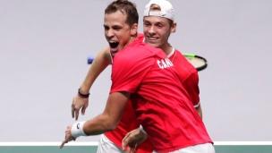 Historique! Le Canada en finale de la Coupe Davis!