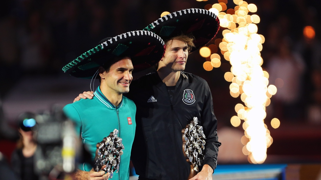 Au Mexique, Federer et Zverev battent le record d'affluence — Tennis