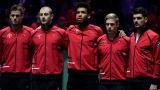 L'équipe canadienne de la Coupe Davis