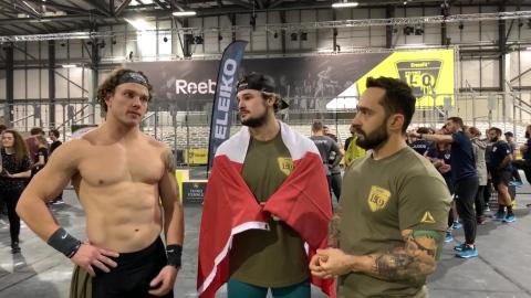 CrossFit : performances des Québécois au 1er événement sanctionné de la saison