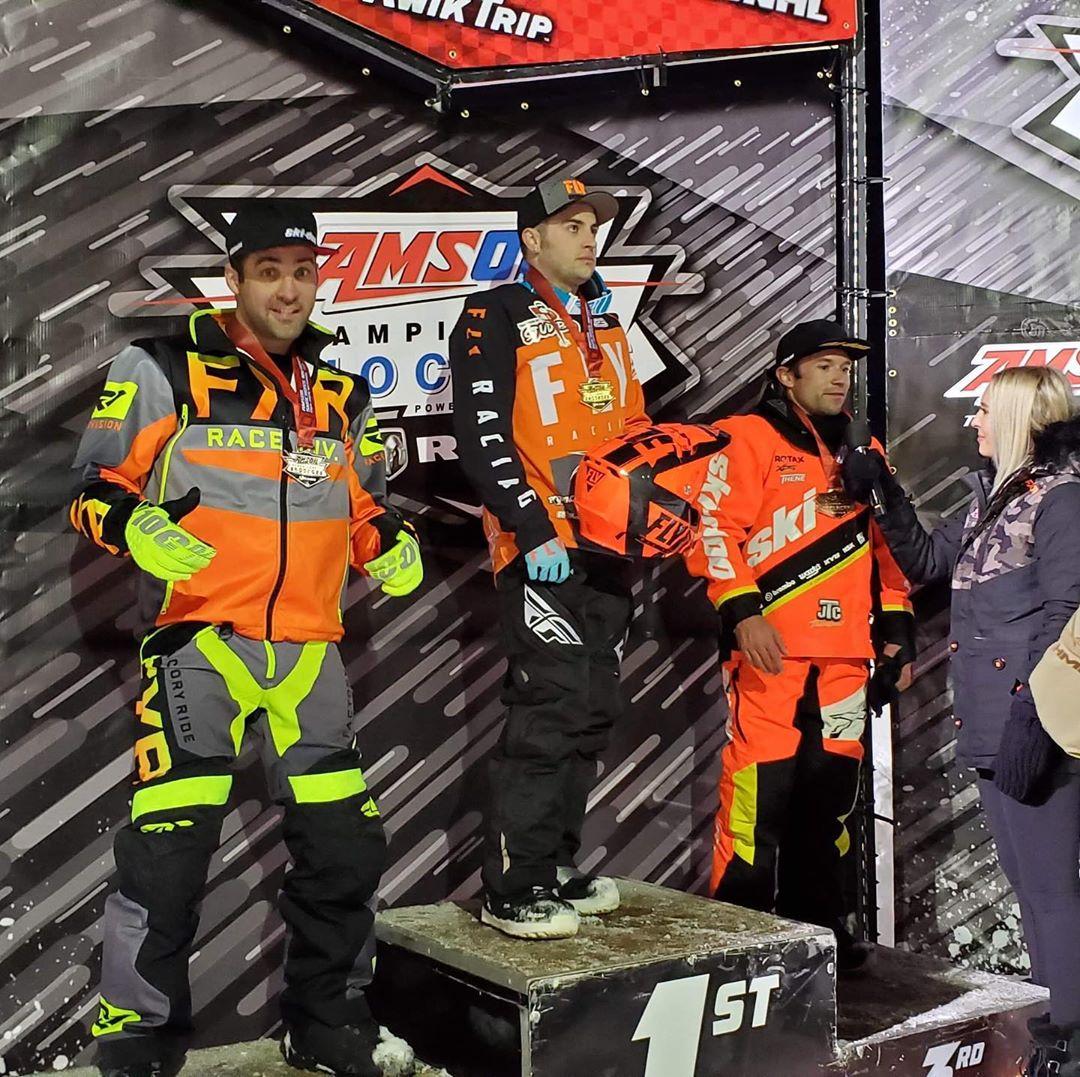 Keven Kelly remporte un 2e position en Pro Am 30+