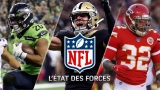 État des forces NFL - 3 décembre 2019