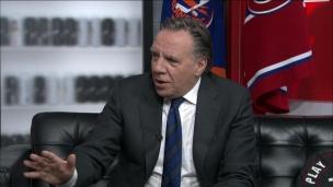 François Legault discute de sports au 5 à 7
