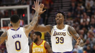 Lakers 121 - Jazz 96