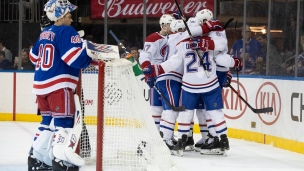Canadiens 2 - Rangers 1