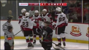 67's 4 - Olympiques 0