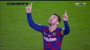 Magnifique frappe de Messi