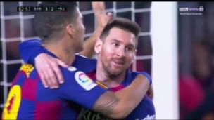 Un 35e tour du chapeau record pour Messi