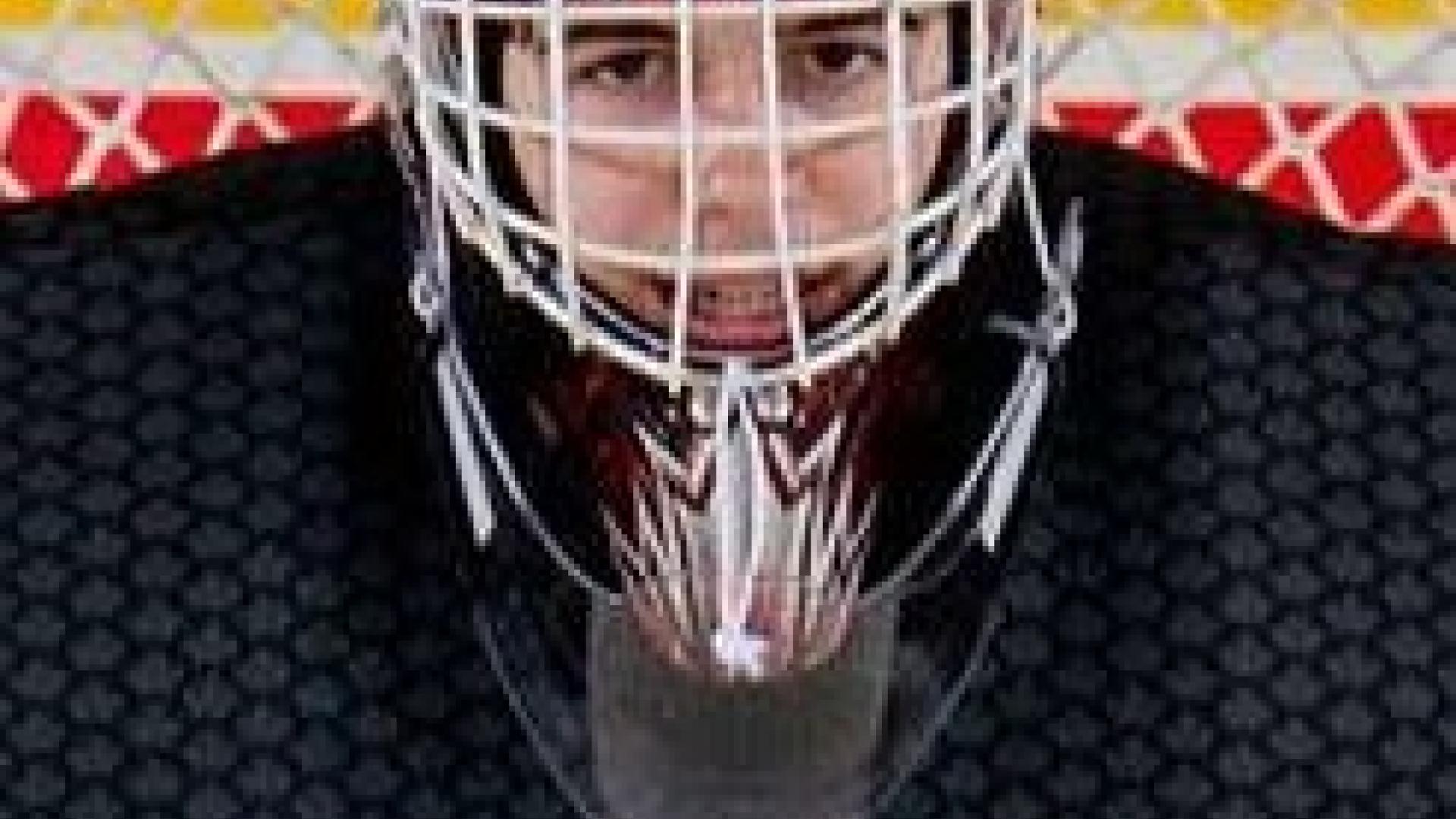 Devon Levi, de Canada Est, a fait face à 33 tirs contre la Russie.