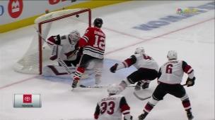 La vision de Kane, les mains de DeBrincat
