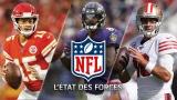 État des forces NFL 10 décembre 2019