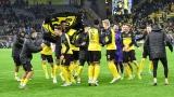 Les joueurs de Dortmund célèbrent