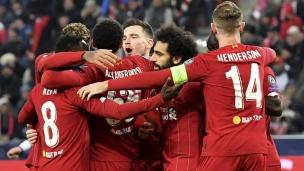 Salzburgh 0 - Liverpool 2