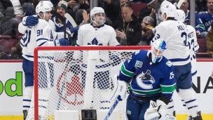 Maple Leafs 4 - Canucks 1
