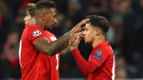 Philippe Coutinho et Jerome Boateng