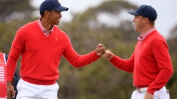 Tiger Woods et Justin Thomas ensemble.jpg