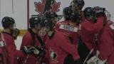 Équipe Canada Junior 2019 en match préparatoire