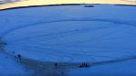 Des Québécois battent le record du plus grand carrousel de glace au monde