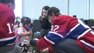 Le CH visite les hôpitaux pour enfants montréalais