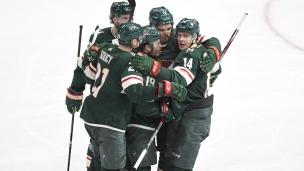 Oilers 5 - Wild 6