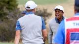 Justin Thomas et Tiger Woods