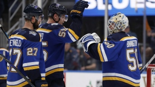 Golden Knights 2 - Blues 4