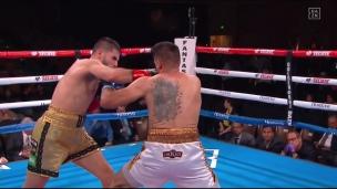 Bazinyan passe le K.O. à Roman au 3e round