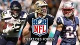 État des forces NFL - 17 décembre 2019