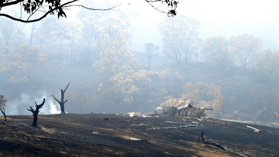 Australie feu