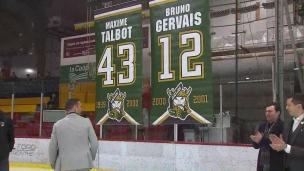 Talbot et Gervais immortalisés à St-Hyacinthe