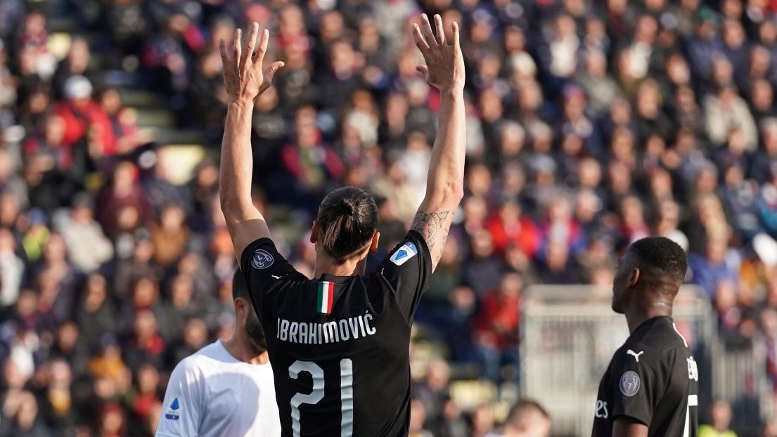 Ibrahimovic buteur pour sa première titularisation avec l'AC Milan