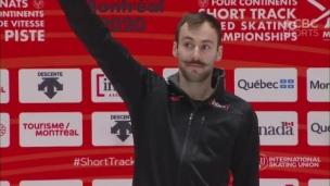 Steven Dubois : le pouvoir de la moustache