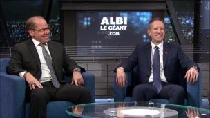 Danny Maciocia et Mario Cecchini dans l'Antichambre