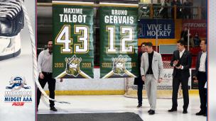 Mission Midget AAA :  un honneur bien mérité pour Maxime Talbot et Bruno Gervais