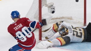 Golden Knights 4 - Canadiens 5 (Tirs de barrage)