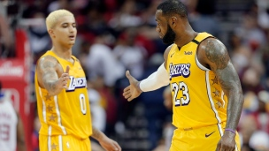 Lakers 124 - Rockets 115