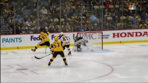 Autre superbe passe de Crosby