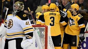 Bruins 3 - Penguins 4