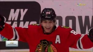 Patrick Kane récolte son 1000e point