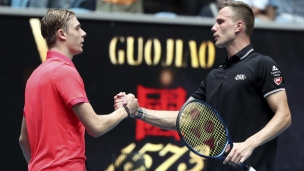 Shapovalov s'incline dès le 1er tour