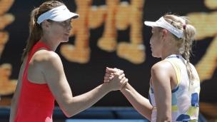 La porte de sortie au 1er tour pour Sharapova
