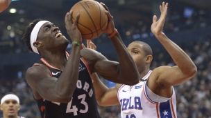 76ers 95 - Raptors 107
