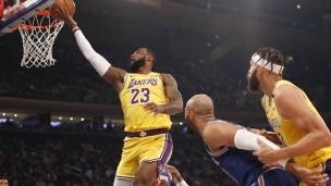 Lakers 100 - Knicks 92